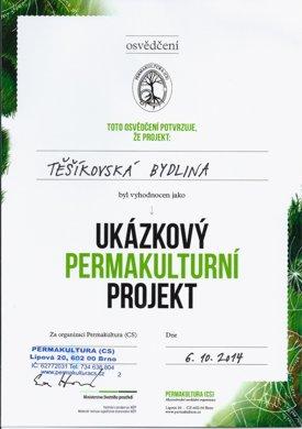 Ukázkový permakulturní projekt